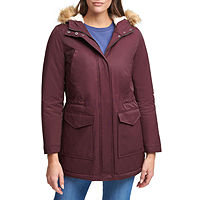 Deals on Levis Womens Hooded Midweight Parka