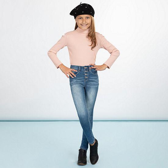 Ymi Big Girls High Rise Skinny Fit Jean