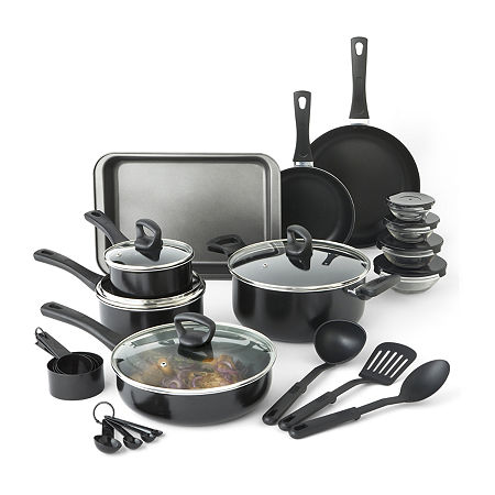 Cooks Aluminum Dishwasher Safe Non-Stick Cookware Set