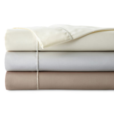 JCPenney Home™ 400tc 6-pc. Easy Care Sheet Set