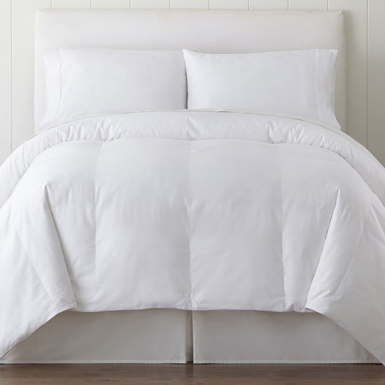 Blue Ridge Home Fashions 1000 Thread Count Cotton Down-Alternative Comforter