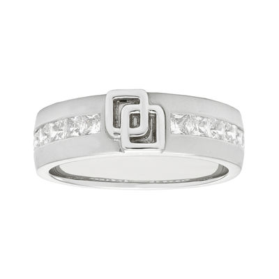 IN Love 1 CT. T.W. Princess-Cut Diamond 14K White Gold Band