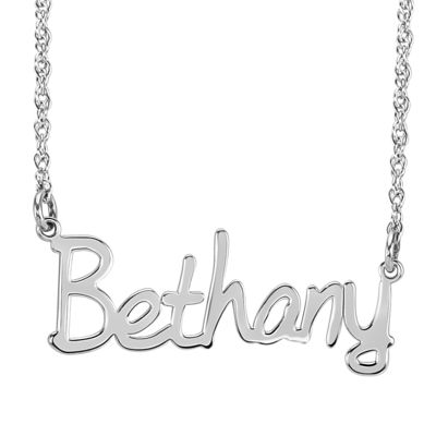 Personalized 30mm Name Necklace