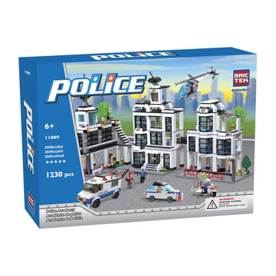 BricTek Police Academy Building Set
