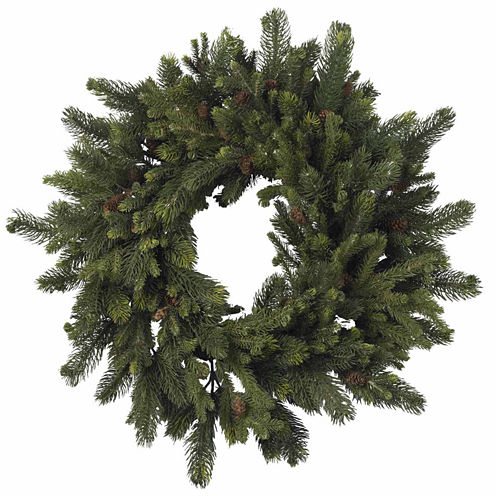Nearly Natural 30in Indoor Christmas Wreath