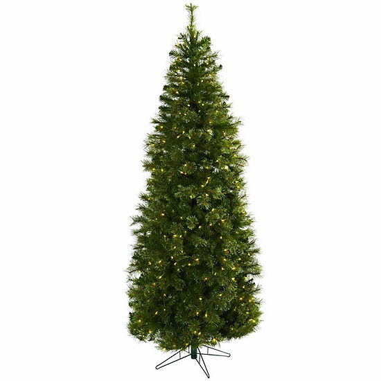 Nearly Natural 7 1/2 Foot 7.5ft Cashmere Christmas Tree