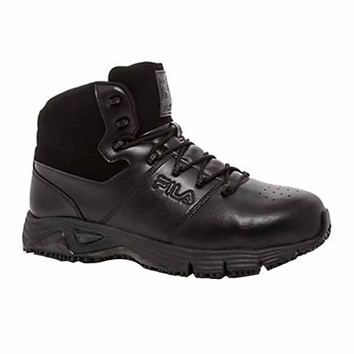 Fila® Memory Breach Mens Steel Toe Work Shoes