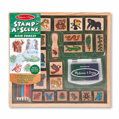 Melissa & Doug® Stamp-a-Scene-Rain Forest