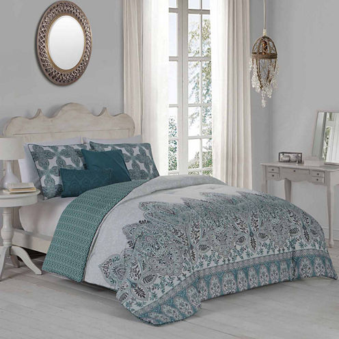 Avondale Manor 5-pc. Reversible Comforter Set