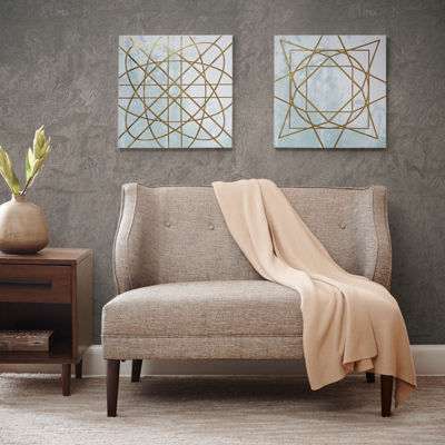 Madison Park Arctic Geometric 2-pc. Canvas Art