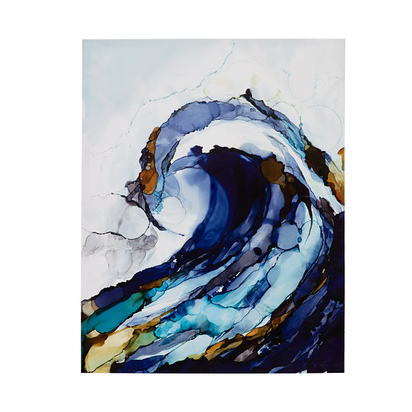 Madison Park Liquid Waves 2-pc. Canvas Art
