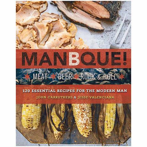 """Manbque """"Meat, Beer, Rock & Roll"""" Cookbook"""