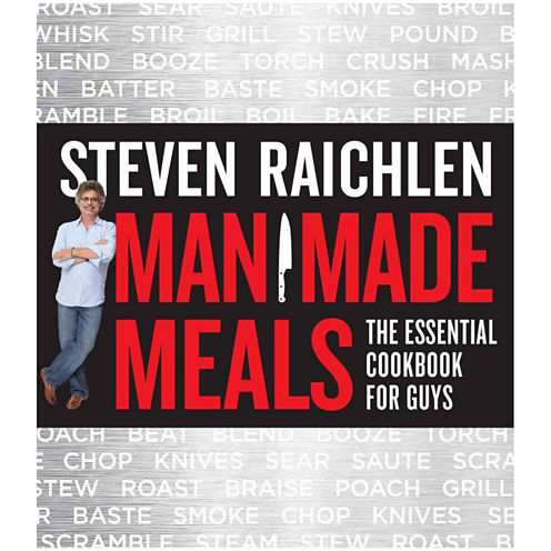 Manmade Meals The Essential Cookbook for Guys
