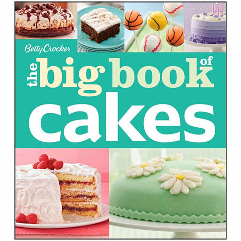 Betty Crocker Big Book of Cakes Cookbook