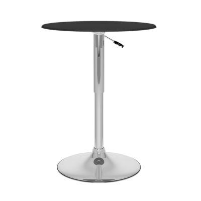 Leatherette Adjustable Pub Table