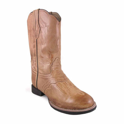 "Smoky Mountain Women's Showdown 11"" Bomber Leather Cowboy Boot"