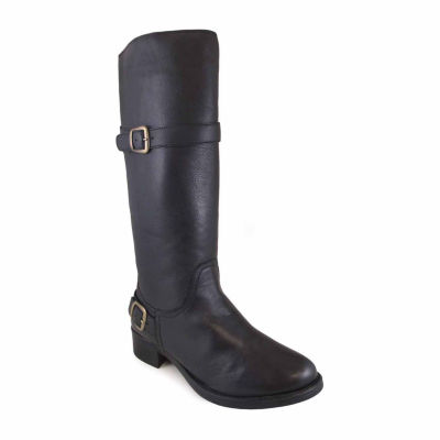 "Smoky Mountain Women's Donna 14"" Leather Tall Boot with Buckles"