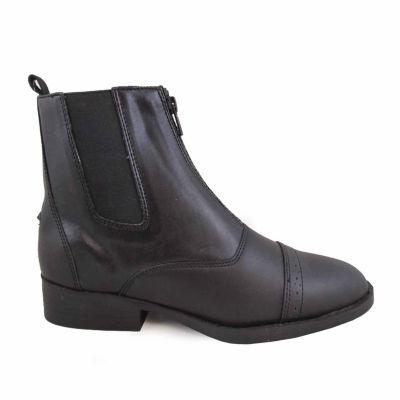 "Smoky Mountain Women's Zipper Paddock 6"" Leather Riding Boot"