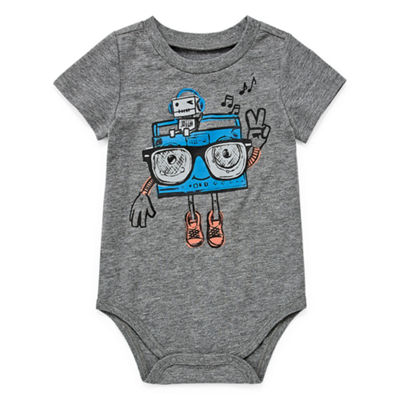 Okie Dokie Short Sleeve Bodysuit - Baby Boy NB-24M