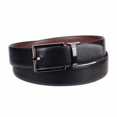 Collection by Michael Strahan  Mens Reversible Belt