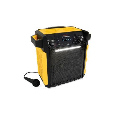 Ion Audio Pathfinder 100 Watt Bluetooth High Power Waterproof Rechargeable Speaker