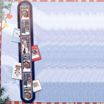Club Pack of 144 Snowman Wall Hanging Christmas Card Holders