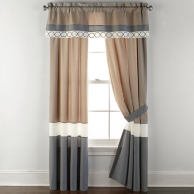 Home Expressions Larin Rod-Pocket Curtain Panel