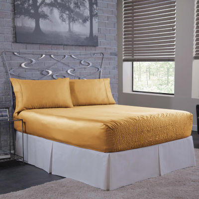 Bedtite Absolutely Fitting 300tc Polyester Satin Sheet Set