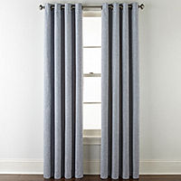 Deals on JCPenney Home Sullivan Blackout Grommet-Top Single Curtain Panel