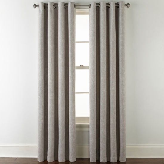 JCPenney Home Sullivan Blackout Grommet-Top Curtain Panel