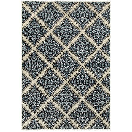 Covington Home Landon Trellis Rectangular Indoor Rugs