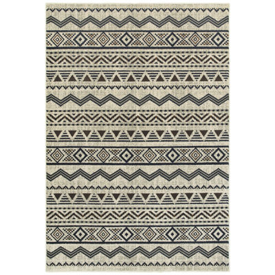 Covington Home Landon Queue Rectangular and Runner  Rugs