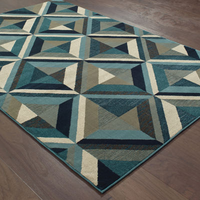 Covington Home Landon Geo Accent Area and Runner  Rugs