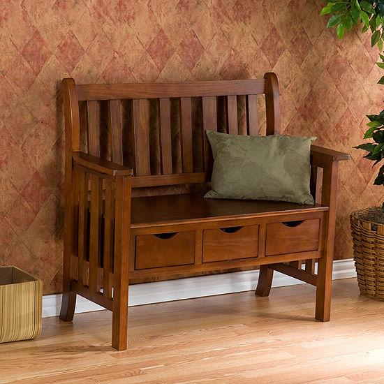 Southlake Furniture Country 3-Drawer Bench