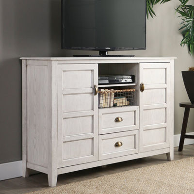 "Angelo Home Wood 52"" Rustic Chic TV Console"