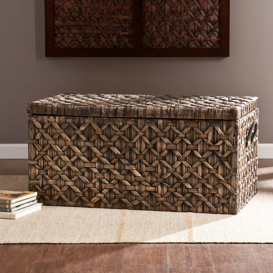 Southlake Furniture Skylar Water Hyacinth Storage Trunk