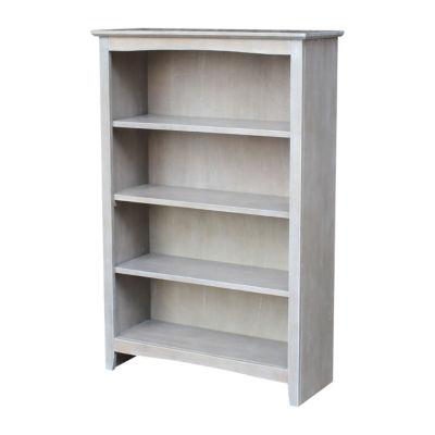 """Shaker 48"""" Wood Bookcase"""