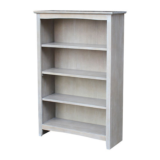 "Shaker 48"" Wood Bookcase"