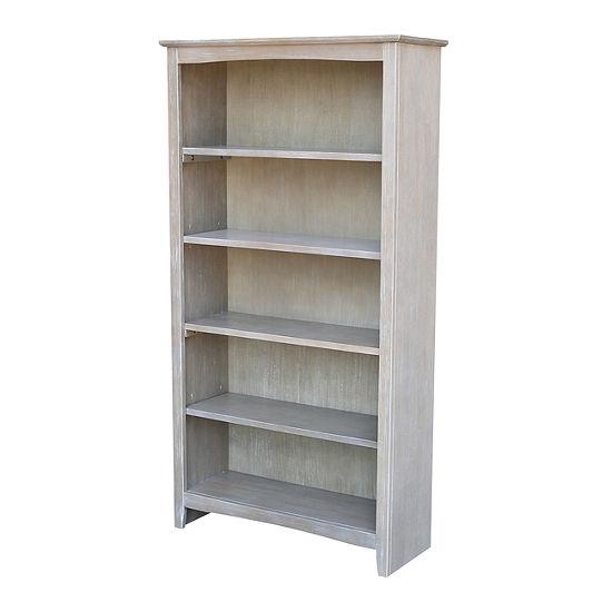 """Shaker 60"""" Wood Bookcase"""