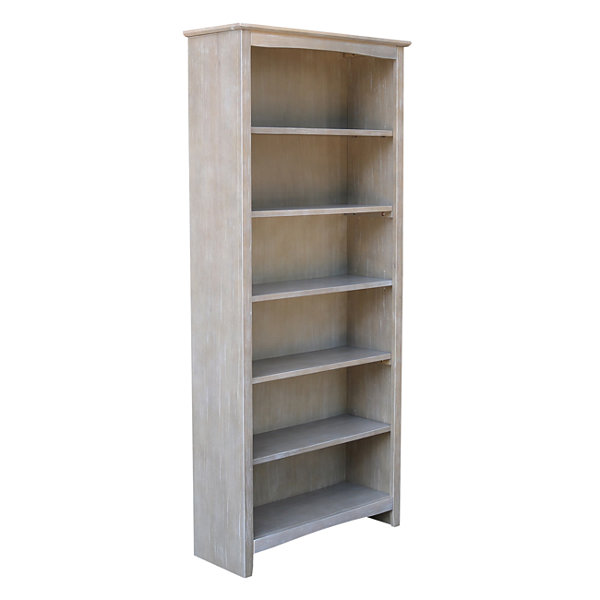 "Shaker 72"" Wood Bookcase"