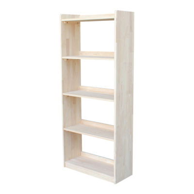 """Abby 62"""" Wood Bookcase"""