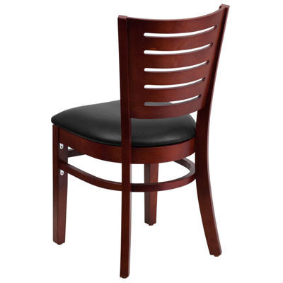 Darby Series Slat Back Wooden Restaurant Chair