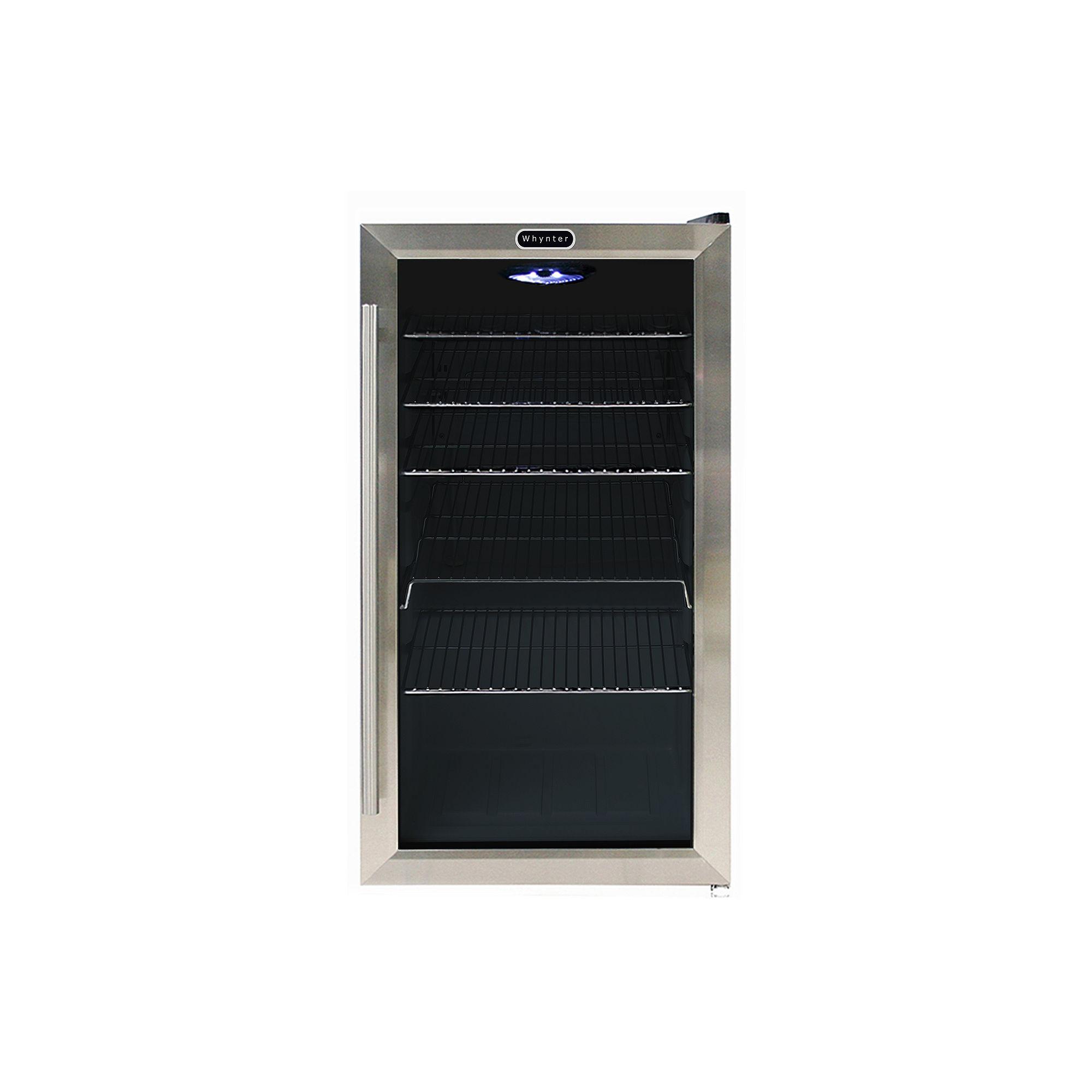Whynter Beverage Refrigerator - Stainless Steel