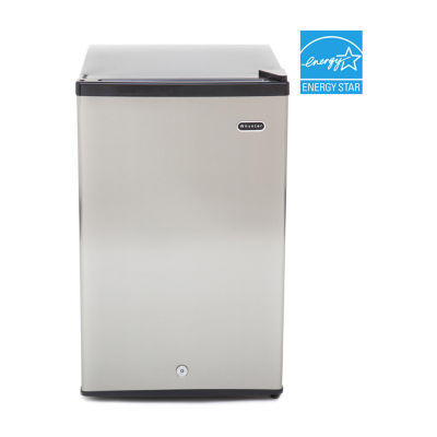 Whynter 2.1 cu. ft. Energy Star Stainless Steel Upright Freezer with Lock