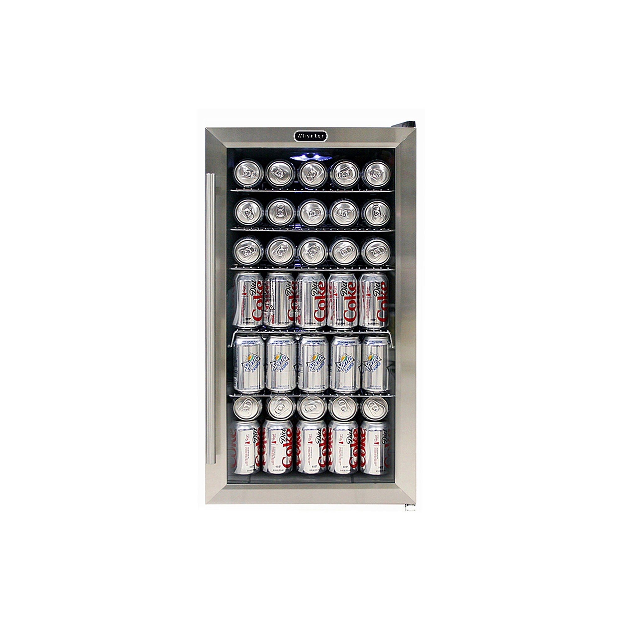 Whynter 120 Can Beverage Refridgerator with internal fan