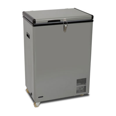 Whynter 95 Quart Portable Wheeled Freezer with Door Alert and 12v Option