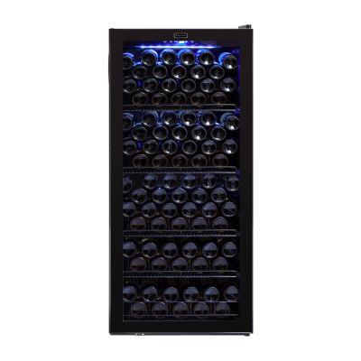 Whynter 120 Bottle Freestanding Wine Cabinet Refrigerator