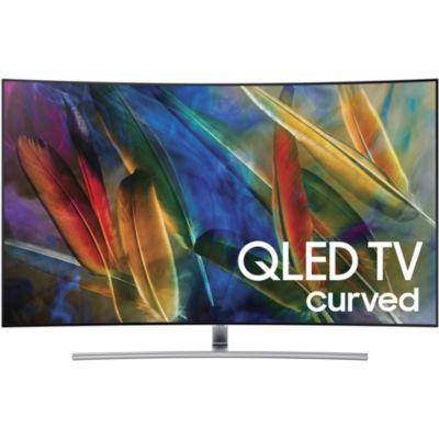 "Samsung Curved 55"" Class UHD 4K HDR QLED Smart HDTV Model QN55Q7CAMFXZA"
