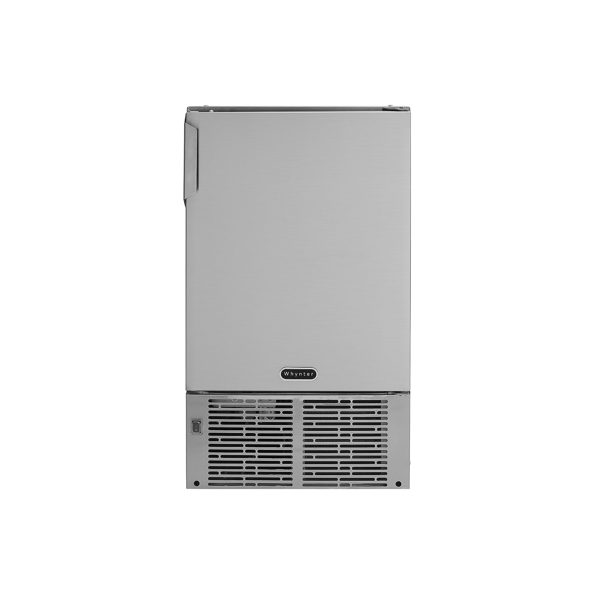 """Whynter 14"""" Undercounter Automatic Stainless Steel Marine Ice Maker 23lb Daily Output"""