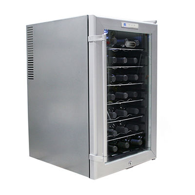 WHYNTER SNO 28 Bottles Wine Cooler - Platinum with lock